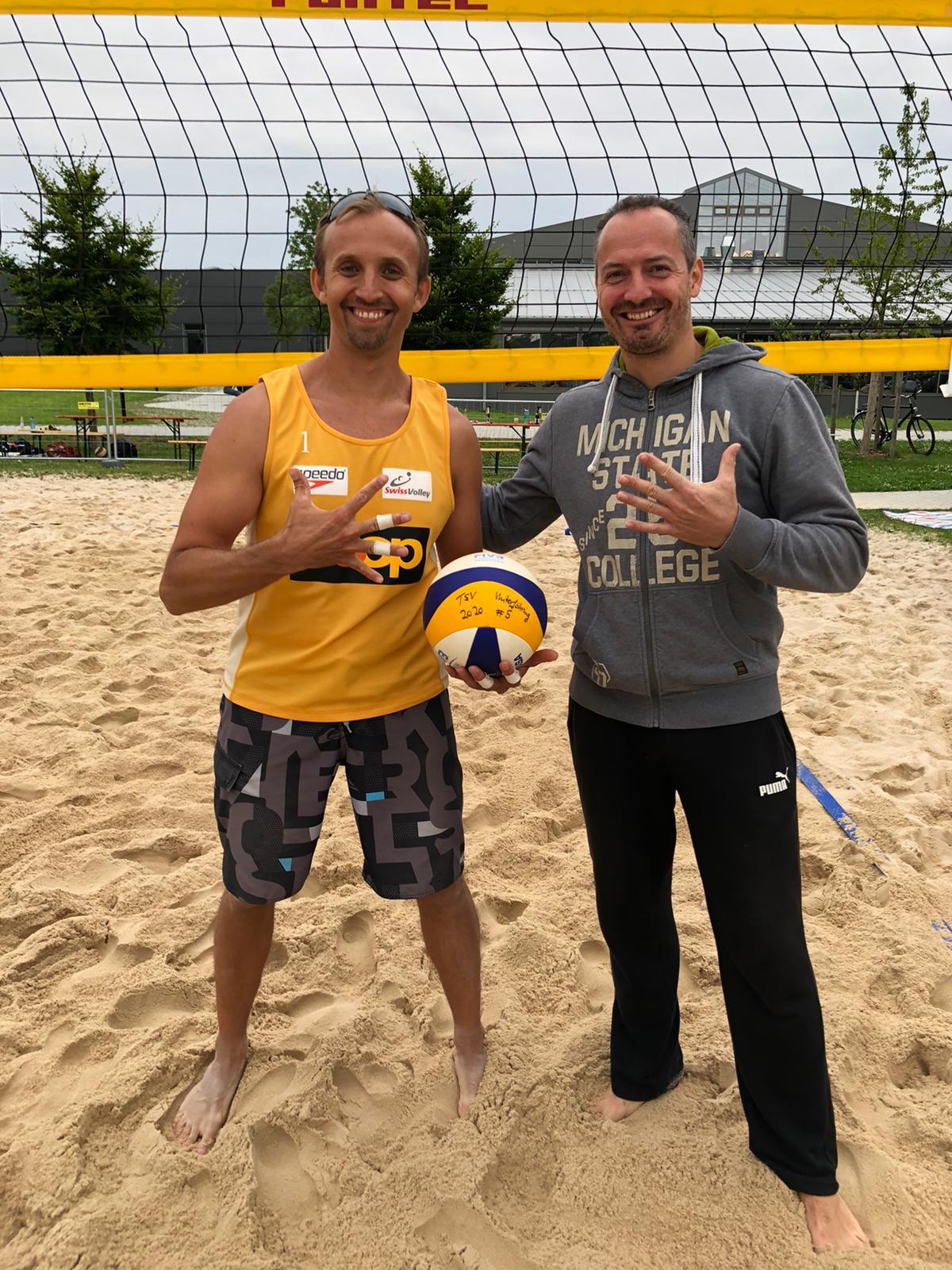Alex Klein und Rene Wendler